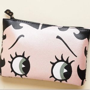 5/$25 Betty Boop Makeup Bag New